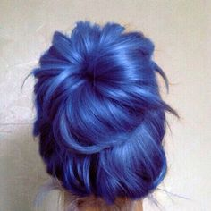 nice 24 Photos of Blue Hair That Blow Us Away