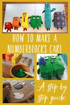 How to make a Numberblocks cake - A step by step guide on how to make a CBeebies Numberblocks birthday cake for the Numberblock loving child in your life. 4th Birthday Cakes, 6th Birthday Parties, Harry Birthday, Birthday Ideas, Cute Baking, Baking With Kids, Cbeebies Cake, Number 3 Cakes, Party Cakes