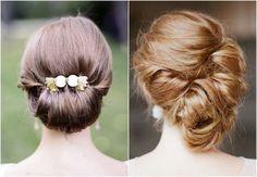 Coque baixo no seu penteado de festa: 20 opções elegantes e lindas! Image: 8