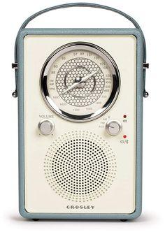 Crosley Radio Mockingbird Bluetooth Radio, Size One Size - Blue Radios, Pool Floats, Burke Decor, Old Soul, Home Office Decor, Vintage Gifts, Retro Vintage, Vinyl Records, Bluetooth