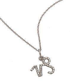 KC Designs Capricorn Zodiac Necklace