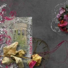 Layout using:   A Mess 2 { Collection } by The Urban Fairy, available at www.digitalscrapbookingstudio.com #theurbanfairy #theStudio