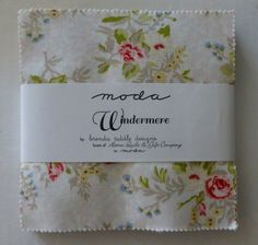 """Cotton Fabric, Quilt, Craft, Charm Pack, 5"""" squares~Windermere by Moda, Fast Shipping, CP194"""