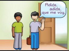 "A Spanish Farewell : ""Dame un abrazo"" [""Give me a hug""]"