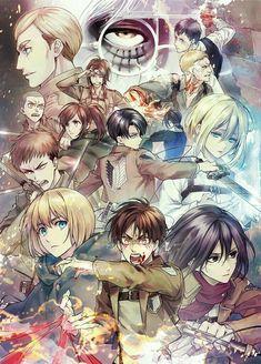 Attack on titan yuri and yaoi roleplay [girl x girl ] [guy x guy] Otaku Anime, Manga Anime, Attack On Titan Eren, Attack On Titan Fanart, Armin, Levi Mikasa, Image Manga, Levi Ackerman, Kuroko