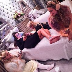 "When Hester became Chanel No. 6 and had a slumber party with the others. | Community Post: 33 Times The ""Scream Queens"" Cast Redefined Squad Goals And Left You Dead"