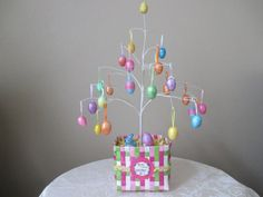 Easter Egg tree centerpiece or decoration by BoutiqueChicGallery