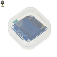 """Frete Grátis 1 Pcs Amarelo cor azul dupla 128X64 LCD OLED Display LED Módulo Para Arduino 0.96 """"I2C CII Série original novo"""