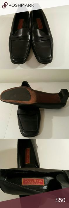 Shoes Black leather loafers Cole Haan Shoes Flats & Loafers