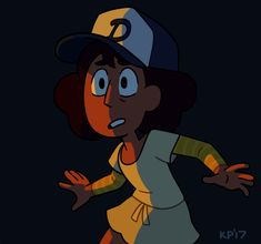 Kyle's Art — I completely forgot to post this but Connie's new... YES! THIS IS SO COOL! WALKING DEAD VIDEO GAME AND STEVEN UNIVERSE