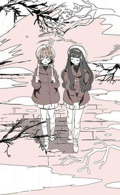 Cardcaptor Sakura   CLAMP   Madhouse / Kinomoto Sakura and Daidouji Tomoyo…