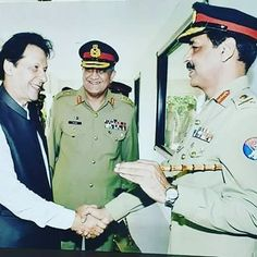 """""""When our world was younger! Congratulations to Dr Alvi on being elected President. Imran Khan Pic, Imran Khan Pakistan, Pakistan Army, Ahmed Deedat, Uniform Insignia, Pakistan Armed Forces, Great Leaders, American Pride, Captain Hat"""