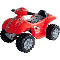 Lil' RiderTM Red Raptor 4 Wheeler Mini ATV