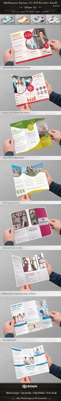 Multipurpose Tri-Fold Brochure Bundle | Volume 2