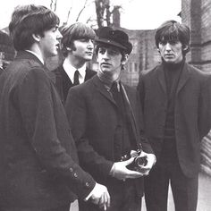 /\ /\ . The Beatles....a hard day's night film