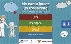 Una aplicación que explica a los niños que es el transplante de médula - Niños con cáncer