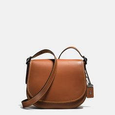 COACH: Saddle Bag 23 In Glovetanned Leather