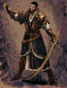 M half elf fighter paladin warlock