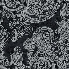 Patternatic, littlemisstorilynn: Black and white.