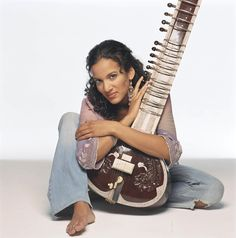 Sitar player and composer Anoushka Shankar is one of the leading figures in World Music today. She is deeply rooted in the Indian classical music she studied exclusively from the age of nine under her father and guru, the legendary Ravi Shankar.