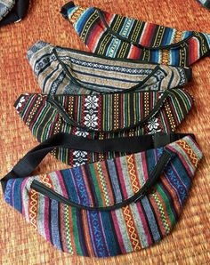 Festival Hipster Tribal Fanny pack boho Styles by TribalSpiritShop