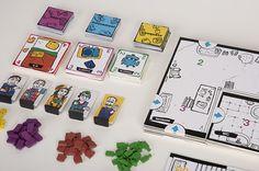 Game Design - La guerre des collocs on Behance