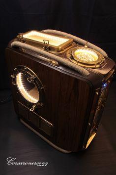 Steampunk Tendencies | The privilege by C.333 #CaseMod #Computer #Design…