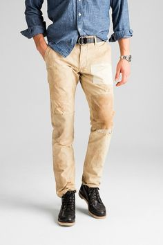 Independent Slim Pant - Handmade Patched Ghurka