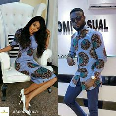 The most classic collection of beautiful traditional and ankara styles and designs for couples. These ankara styles collections are meant for beautiful African ankara couples Couples African Outfits, Couple Outfits, African Attire, African Wear, African Dress, African Inspired Fashion, African Print Fashion, Africa Fashion, African Prom Dresses
