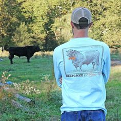 Beefcake In A Bowtie! ...a Southern Cross original!! Look for it at a retailer near you or get it online at http://ift.tt/1m7YrY2 !! #farmboy #farmlife #countrygirl #countryboy
