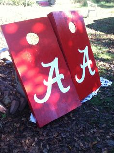 Alabama Cornhole Boards #emddesigns