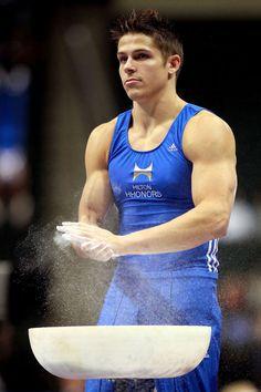 21 Hottest Olympic Athletes: Chris Brooks, Gymnastics, USA.