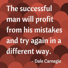 I've made a ton of mistakes, but I'm going to turn those mistakes into a wealth of knowledge