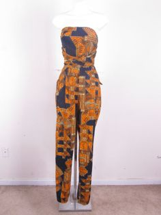 Custom 100 Cotton African Print Wrap Sleeveless by stellahsgroove, $65.00