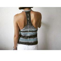 초보도 쉽게 뜰 수 있는 #코바늘 ~탑 #여름#휴가 준비 미리 해야죠? ^^ #instashot #nocrop #crochettop #crochet