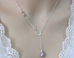 Pearl Necklace for Bride Bridesmaid Bridal Pearl Necklace