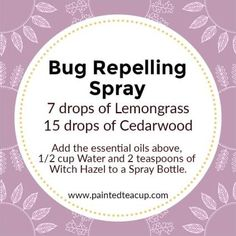 All-Natural DIY Essential Oil Sprays for Your Home 4 easy all-natural DIY essential oil sprays. Recipes for Air-freshening spray, bug repelling spray, fabric spray, bathroom cleaning spray. Essential Oil Bug Spray, Essential Oils For Colds, Essential Oil Uses, Young Living Essential Oils, Essential Oil Diffuser, Oils For Energy, Cleaning Spray, Bathroom Cleaning, Cedarwood Oil