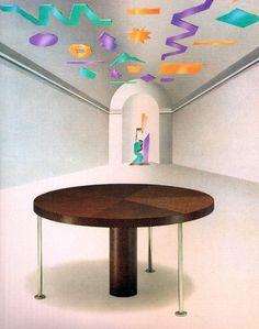 Ettore Sottsass, Ospite Table, for Zanotta, c.1982