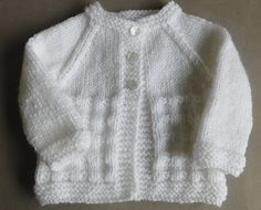 20 Super Cute Knit Baby Sweater Patterns | AllFreeKnitting.com