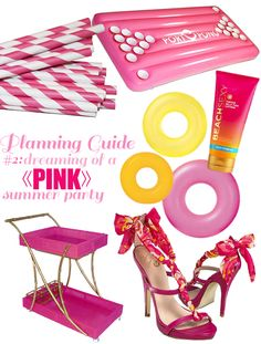Nicole Rene Design {weddings, events, home decor, fashion & more}: Dreaming of a PINK Summer