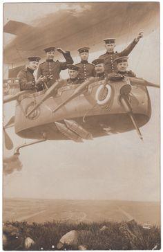 Photographer Schubert., Berlin, Germany, 1911 Real photo postcard, 5½x 3½ ins. (14 x 9cm) © Fine Vernacular Photography