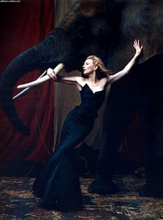 ♥ Romance of the Maiden ♥ couture gowns worthy of a fairytale - Cate Blanchett ~ Harper's Bazaar