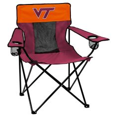 NCAA VA Tech Elite Chair, Virginia Tech Hokies