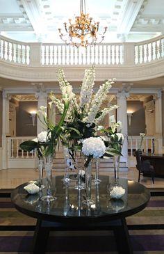 the balmoral edinburgh reception interior flowers scotland
