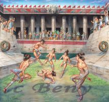 Juego De Pelota By Benyhibridos Mexico Culture Ancient Mexico Aztec Art