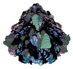Ori Toor art animation loop trippy