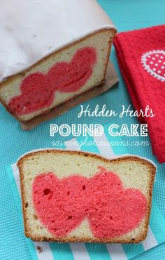 Make a statement this Valentine's Day because this Hidden Heart Pound Cake is at the top of our list!