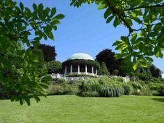 Kaiserlichen Ambiente des Badener Kurparks romantische Mondscheinkonzerte. #Gartensommer ©Natur im Garten/Alexander Haiden