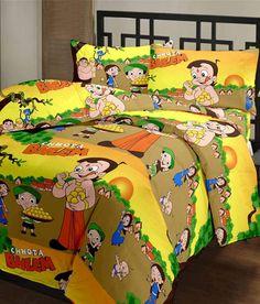 Cartoon Prints Chota Bheem Reversible AC Blanket-220 TC, http://www.snapdeal.com/product/chota-bheem/1805368649