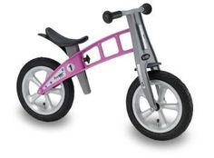 FirstBIKE is a great balance bike to help toddlers + preschoolers transition from tricycles.